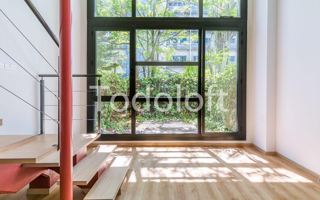 Loft dúplex con jardín en Avd. Manoteras – Madrid